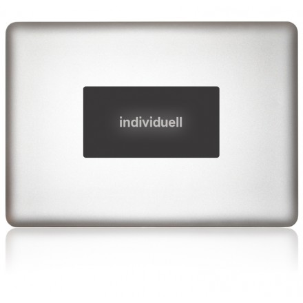 macbook sticker individuell