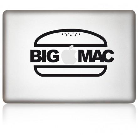 MacBook Aufkleber BIGMAC