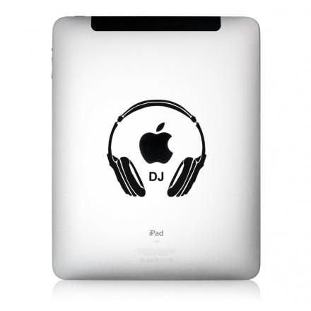 iPad Aufkleber DeeJay