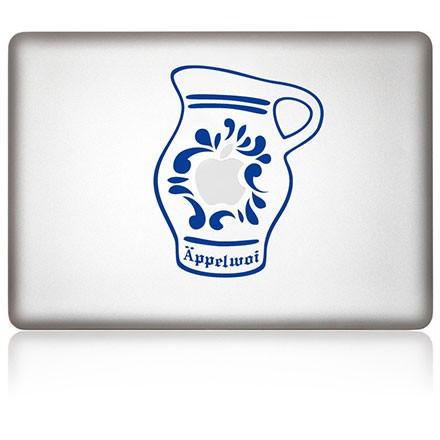 MacBook Aufkleber: Äppelwoi