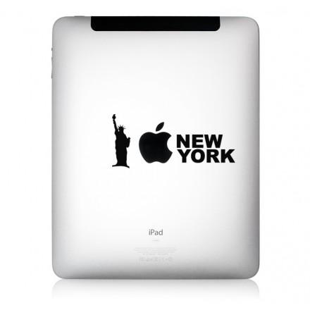 iPad Aufkleber iLove New York