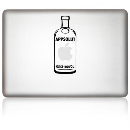 MacBook Aufkleber APPSOLUT