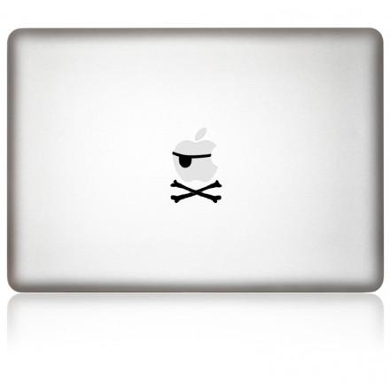 MacBook Aufkleber Pirat