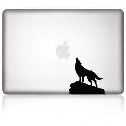 MacBook Aufkleber EinsamerWolf