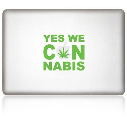 MacBook Aufkleber: Cannabis