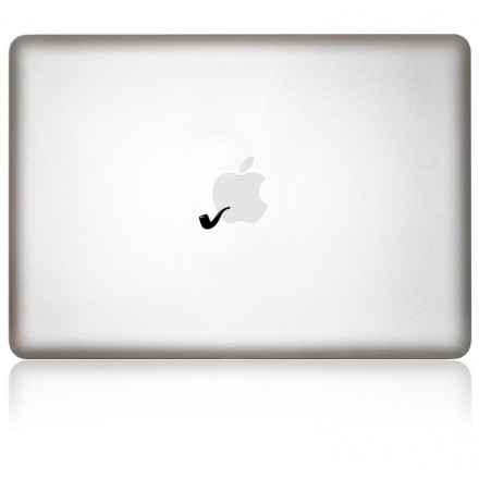MacBook Aufkleber: Pipe