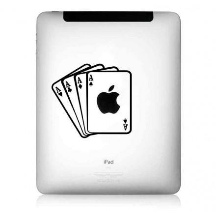 iPad Aufkleber: Aces