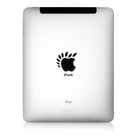 iPad Aufkleber iPunk