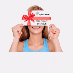 FREE CHOICE  Gutschein