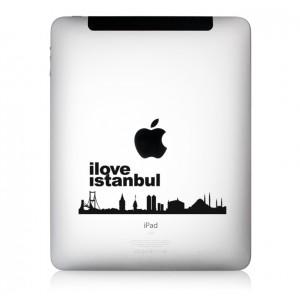 iPad Aufkleber iLove Istanbul