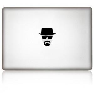 MacBook Aufkleber: heisenberg