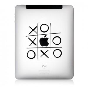iPad Aufkleber: Tic Tac Toe